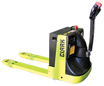 Clark electric powered pallet truck
