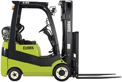 Clark_forklift_C15C/18C/20SC_IC_LP/Gas_cushion tire_3,000-4,000lb_clipped