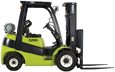 Clark_C25_forklift_pneumatic tire_4,000-7,000lb_IC_LPG_diesel_clipped