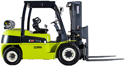 Clark_C40_forklift_pneumatic tires_IC_LPG_diesel_8,000-11,000lbs_clipped