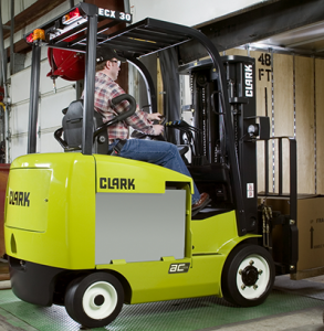 Clark electric cushion tire forklift