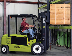 8,000 to 10,000 lb electric forklift