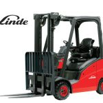 Linde cushion tire forklift