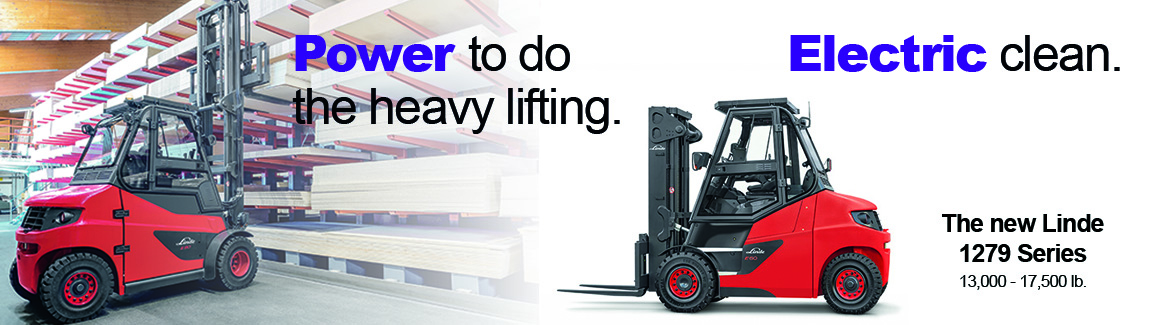 Linde electric forklifts